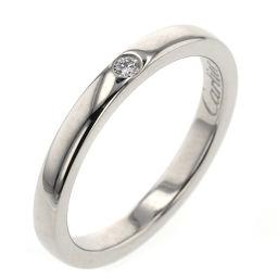 カルティエ CARTIER バレリーナ 約2.1mm 1P リング・指輪  プラチナPT950/ダイヤモンド ダイヤモンド 5号 シルバー レディース K90823923