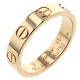 カルティエ CARTIER ミニラブ リング・指輪  K18イエローゴールド 5号 ゴールド レディース K90823947