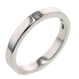 ブルガリ BVLGARI マリーミー 1P  リング・指輪  プラチナPT950/ダイヤモンド ダイヤモンド 14.5号 シルバー レディース K90823953