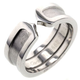 カルティエ CARTIER C2  リング・指輪  K18ホワイトゴールド 11号 シルバー レディース K90824377