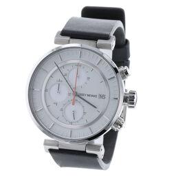 イッセイミヤケ ISSEY MIYAKE 腕時計  ステンレススチール/レザー ブラック メンズ K90923612