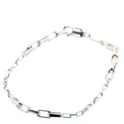 Gucci GUCCI Chain Bracelet Silver 925 Silver Ladies K91023796