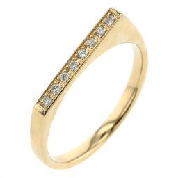 Ete ete 0.04ct Ring / Ring K18 Yellow Gold / Diamond Diamond 0.04ct 11 Gold Ladies K91023927
