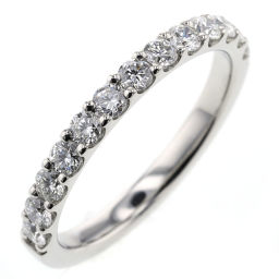 Star Jewelry STAR JEWELRY Half Eternity 13P About 2mm Ring / Ring 1XR0523 Platinum PT950 / Diamond Diamond 0.50ct No.11 Silver Ladies K91023980
