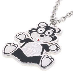 Vivienne Westwood Vivienne Westwood MANBEAR PENDANT Man Bear Necklace BP1546 Plating Silver Ladies K91123222