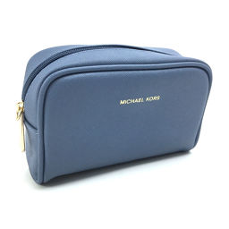 Novelty pouch PVC blue ladies K91123232 with Michael Kors strap