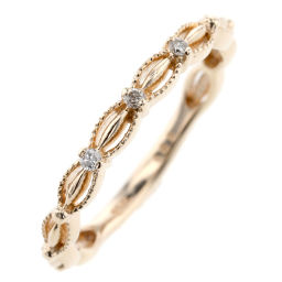 Agat agete Ring / Ring K10 Pink Gold / Diamond Diamond 0.02ct No.5 Gold Ladies K91123323