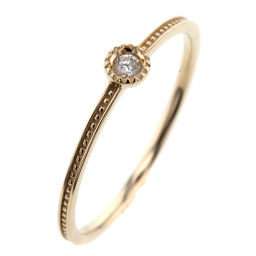 Ete ete 1P Ring / Ring K10 Yellow Gold / Diamond Diamond 0.03ct No. 13 Gold Ladies K91123333