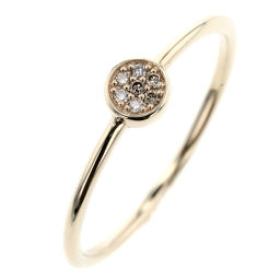 Ete ete 7P Ring / Ring K10 Yellow Gold / Diamond Diamond 0.02ct 11 No.Gold Ladies K91123343