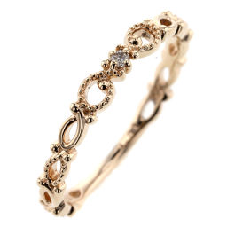 Noges NOJESS Ring / Ring K10 Yellow Gold / Diamond Diamond 0.01ct 9 Gold Ladies K91123351