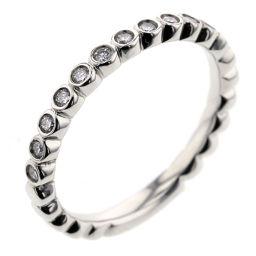 スタージュエリー STAR JEWELRY ハーフエタニティ 13P 0.13ct リング・指輪  プラチナPT950/ダイヤモンド ダイヤモンド0.13ct 8号 シルバー レディース K91123357