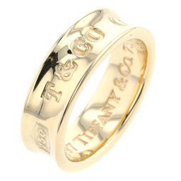 TIFFANY TIFFANY & Co. 1837 Narrow Width approx. 6mm Ring / Ring K18 Yellow Gold No.9.5 Gold Ladies K91213508