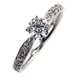 ティファニー TIFFANY&Co. ハーモニー ハーフサークル 0.37ct H IF 3EX NONE リング・指輪  プラチナPT950/ダイヤモンド ダイヤモンド0.37ct 5号 シルバー レディース K91213512