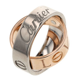Cartier CARTIER Secret Love Ring / Ring K18 White Gold / K18 Pink Gold 5.5 No.Silver Ladies K91213520