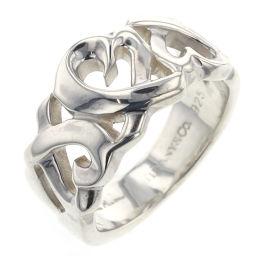 ティファニー TIFFANY&Co. ラビングハート トリプル リング・指輪  シルバー925 4.5号 シルバー レディース R00310111