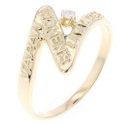 ミキモト MIKIMOTO 1P デザイン  リング・指輪  K18イエローゴールド/ダイヤモンド 12.5号 ゴールド レディース R80406002
