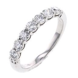 ティファニー TIFFANY&Co. ハーフ サークル シェアド プロング セッティング リング・指輪  プラチナPT950/ダイヤモンド ダイヤモンド 9号 シルバー レディース R91219009
