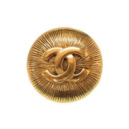 シャネルCHANEL ヴィンテージ ココマーク ブローチ メタル/メタル ゴールド 0099 レディース