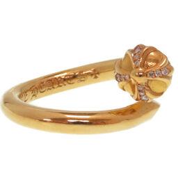 クロムハーツCHROME HEARTS RNG NSIL CRS BALL P/DMND リング・指輪 K22イエローゴールド/K22イエローゴールド 11号 ゴールド 0160 メンズ