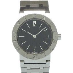 ブルガリBVLGARI クオーツ ブルガリブルガリ  BB30SSD 腕時計 ステンレススチール/ステンレススチール ブラック 0089 ボーイズ