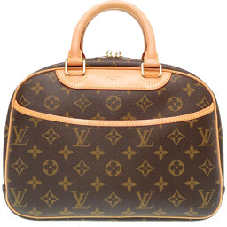 LVLOUIS VUITTON Monogram M42228 Handbag Monogram Canvas / Monogram Canvas Brown 0034 Ladies