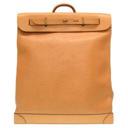 LVLOUIS VUITTON Steamer Boston Bag Epi Leather / Epi Winnipeg 0051 Men's