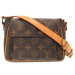 LVLOUIS VUITTON Vuitton PM Monogram M51165 Shoulder Bag Monogram Canvas / Monogram Canvas Brown 0103 Ladies
