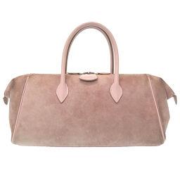 Hermes HERMES Paris Bombay Handbag Vove Velor / Velo Velor Purple □ K Engraved 0048 Ladies