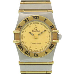 Omega OMEGA Quartz Constellation Full Bar Combi 1262.10 Watch Stainless Steel / K18 Yellow Gold / Stainless Steel Gold 0096 Ladies
