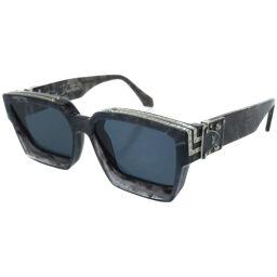 LVLOUIS VUITTON Millionaire Sunglasses Virgil Z1326E Sunglasses Plastic / Plastic Navy 0071 Men's