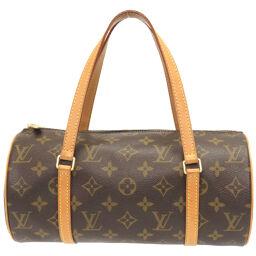LVLOUIS VUITTON Papillon 26 Monogram M51386 Handbag Monogram Canvas / Monogram Canvas Brown 0063 Ladies