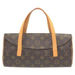 LVLOUIS VUITTON Sonatine Monogram M51902 Handbag Monogram Canvas / Monogram Brown 0064 Ladies