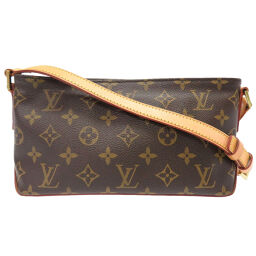 LVLOUIS VUITTON Trotter Monogram M51240 Shoulder Bag Monogram Canvas / Monogram Brown 0012 Ladies