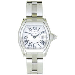 Cartier CARTIER Quartz Roadster SM W62016V3 Watch Stainless Steel / Stainless Steel Silver 0015 Ladies