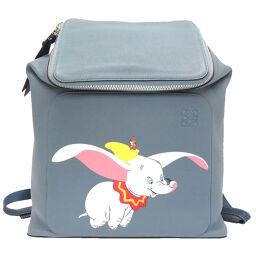 Loewe LOEWE x Dumbo Disney Capsule Collection Backpack Daypack Leather / Leather Blue 0004 Unisex