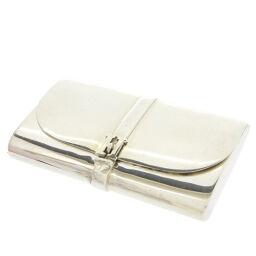 Hermes HERMES Silver Pill Case Clutch Bag Motif Other Accessories Silver 925 / Silver 925 Silver 0027 Unisex