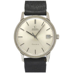 Omega OMEGA Automatic Geneve Watch Stainless Steel / Leather / Stainless Steel Silver 0057 Men's