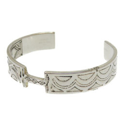 Hermes HERMES Tuareg Vintage Bangle Silver 925 / Silver 925 Silver 0051 Unisex