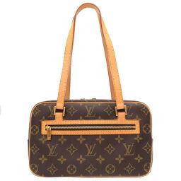 LVLOUIS VUITTON Cite MM Monogram M51182 Handbag Monogram Canvas / Monogram Brown 0022 Ladies