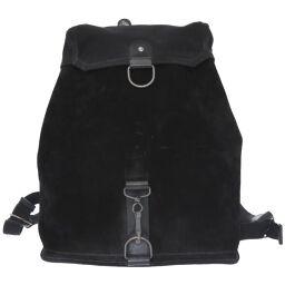マルタンマルジェラMARTIN MARGIELA バックパック リュック バッグ リュック・デイパック スウェード/キャンバス ブラック 0050 メンズ