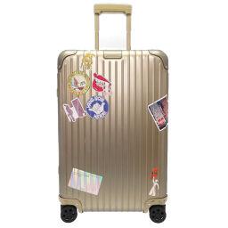 Rimowa RIMOWA original check-in M 60L 925 63 03 carry bag aluminum / aluminum gold 0071 unisex