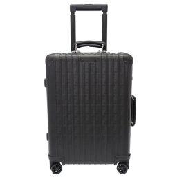 Rimowa RIMOWA × Fendi FF logo 33L Zucca pattern 972 90 02 3 Carry bag Aluminum / Aluminum Black 0073 Men's