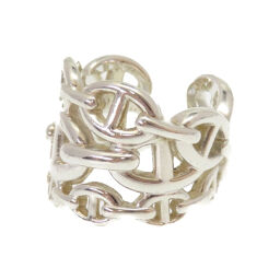Hermes HERMES Anchenering Ring Silver 925 / Silver 925 No. 13 Silver 0252 Unisex