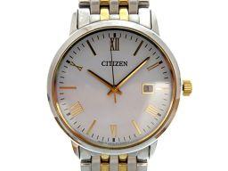 シチズンCITIZEN エコドライブ E111-S067901  腕時計 ステンレススチール/ステンレススチール シルバー 0039 メンズ