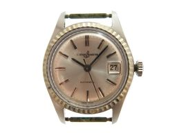 ユリス ナルダンULYSSE NARDIN 自動巻き 7350-3 腕時計 ステンレススチール/ステンレススチール シルバー 0227 レディース
