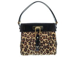 Dsquared DSQUARED 2 shoulder bag Harako / patent leather leopard pattern 0039 Women