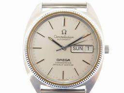 オメガOMEGA コンステレーション ジェラルドジェンタケース 腕時計 ステンレススチール/ステンレススチール シルバー 0607 メンズ