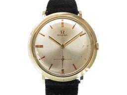 オメガOMEGA 金無垢 自動巻き腕時計 アンティーク 腕時計 K14イエローゴールド/K14イエローゴールド ゴールド 0610 メンズ