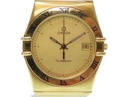 オメガOMEGA 金無垢 コンステレーション 腕時計 K18イエローゴールド/K18イエローゴールド イエローゴールド 0485 メンズ