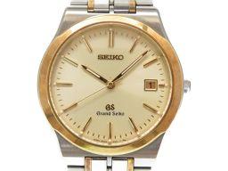 セイコーSEIKO グランドセイコー コンビ 8N65-9000 腕時計 ステンレススチール/K18イエローゴールド ゴールド 0492 メンズ